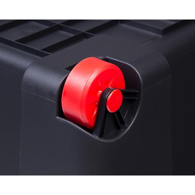 ONDIS24 Aufbewahrungsbox mit Deckel Malle 120 L