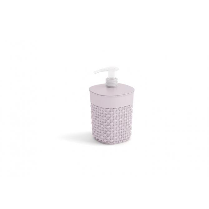 ONDIS24 Badezimmer Set Filo Bad Utensilien grau-rosé