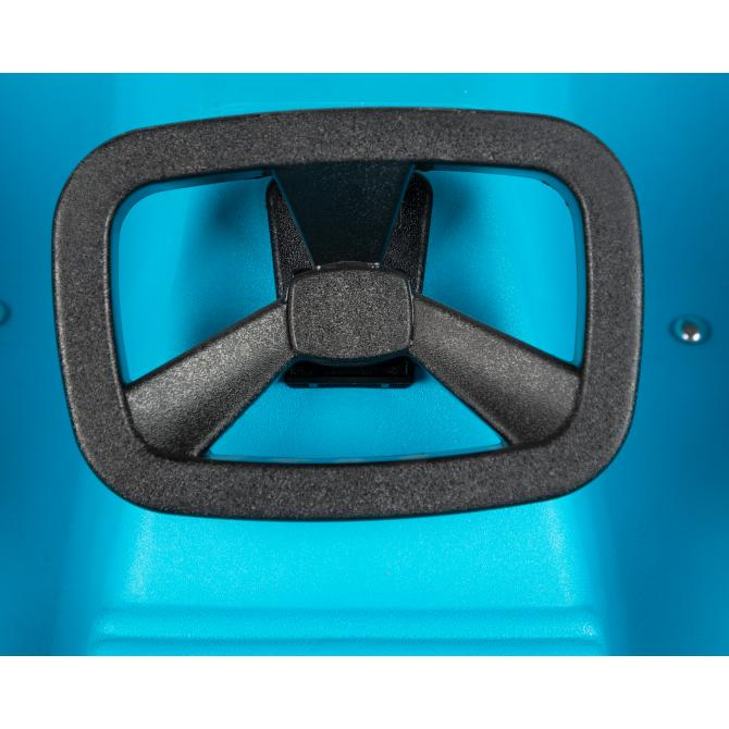 ONDIS24 Schlitten Super Bob blau 1 Sitz