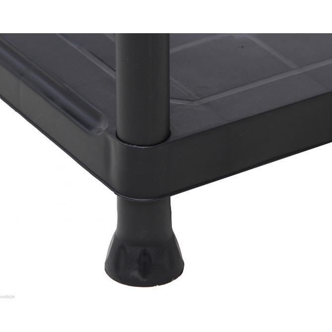 ONDIS24 Kunststoffregal Steckregal Schwerlastregal 60 x 30 x 135 cm