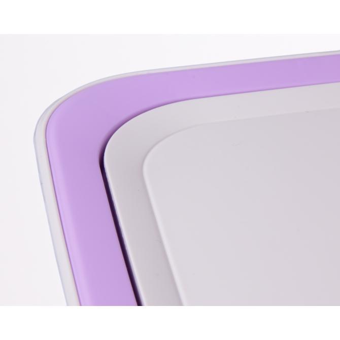ONDIS24 Wäschekorb Wäschebox Moda Savon 60 L