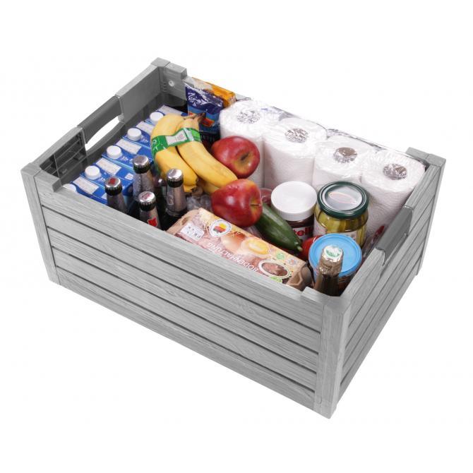 ONDIS24 Klappbox Faltbox Transportkiste Einkaufskorb Florida