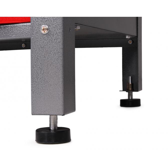 ONDIS24 Werkstatt-Set Ecklösung Sparfuchs rot