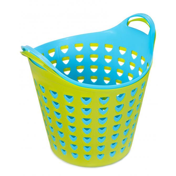 ONDIS24 Wäschekorb Wäschesammler Flexi 26 L
