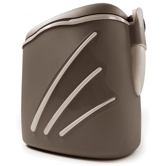 ONDIS24 Kühlbox Thermobehälter Oceanic 30 Liter taupe
