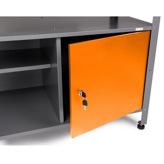 ONDIS24 Werkstatt-Set Ecklösung Sparfuchs orange