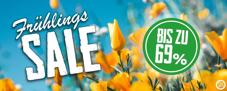Banner Sale Frühling