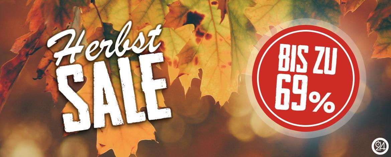 Banner Sale Herbst