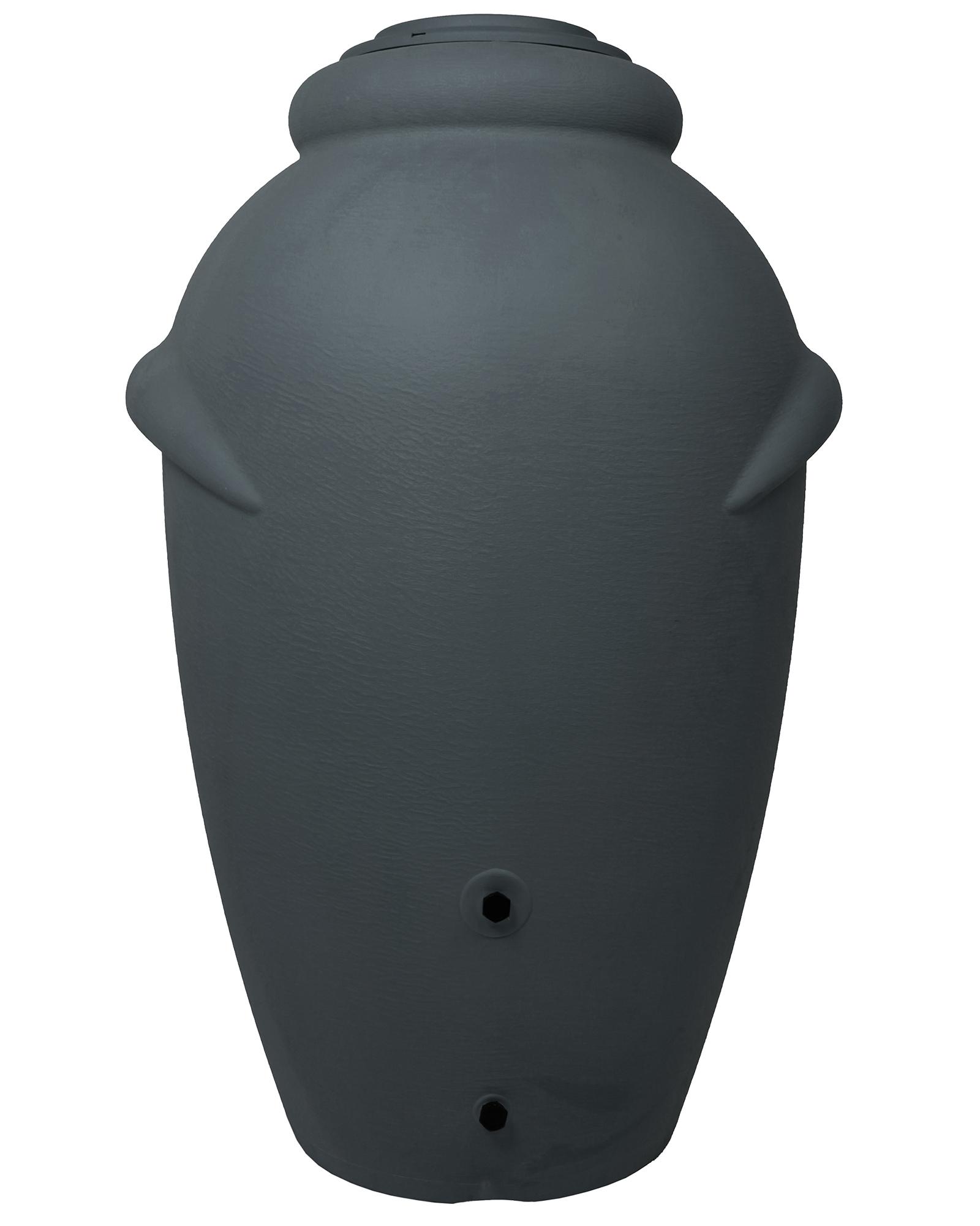 ondis24 regentonne wasserbeh lter amphore anthrazit 360l. Black Bedroom Furniture Sets. Home Design Ideas