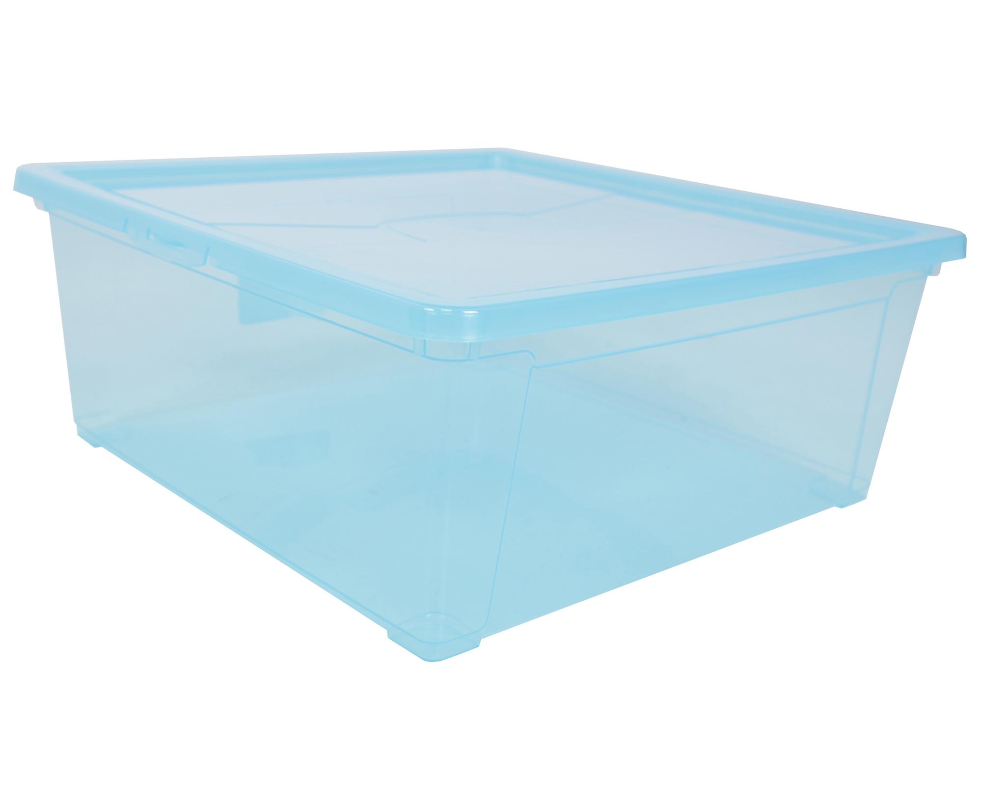 ondis24 aufbewahrungsbox easy l blau g nstig online kaufen. Black Bedroom Furniture Sets. Home Design Ideas