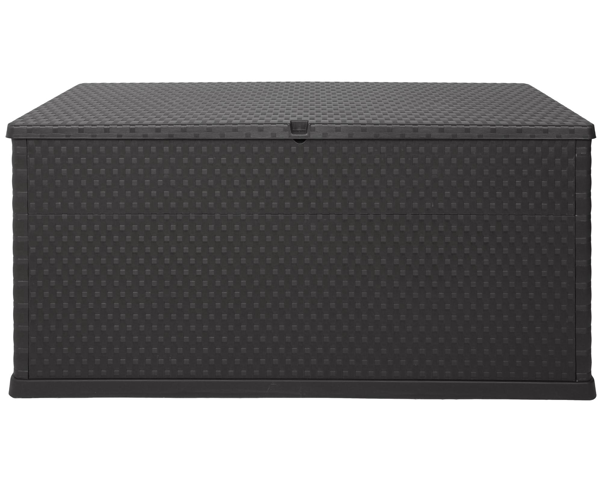 ondis24 kissenbox auflagenbox rattan anthrazit g nstig online kaufen. Black Bedroom Furniture Sets. Home Design Ideas