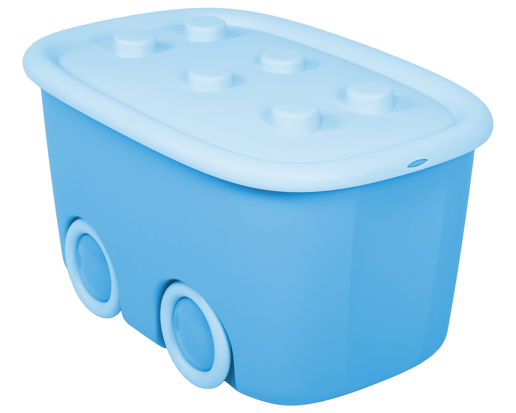 ondis24 spielzeugbox funny hellblau g nstig online kaufen. Black Bedroom Furniture Sets. Home Design Ideas