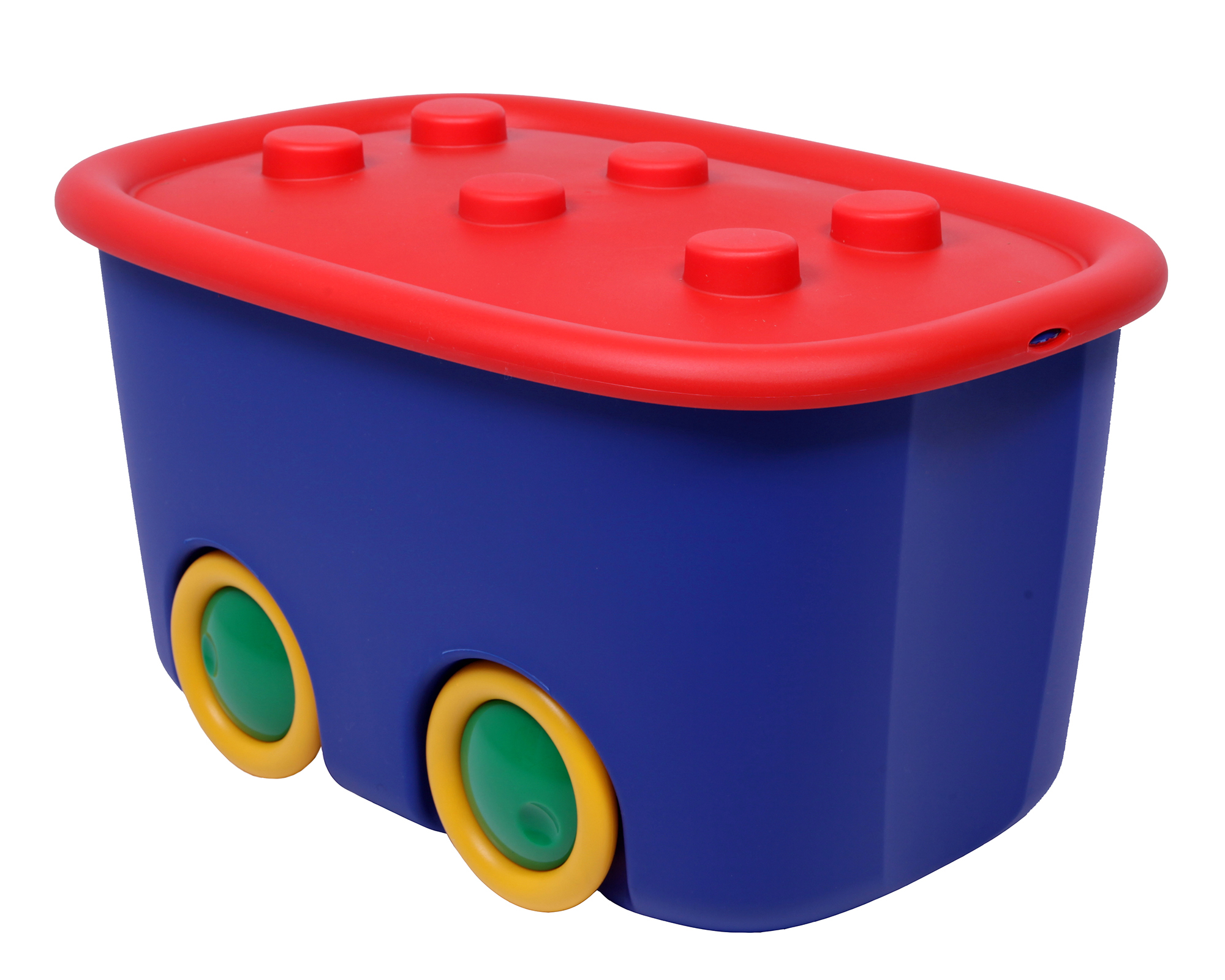 ondis24 spielzeugbox funny blau rot g nstig online kaufen. Black Bedroom Furniture Sets. Home Design Ideas