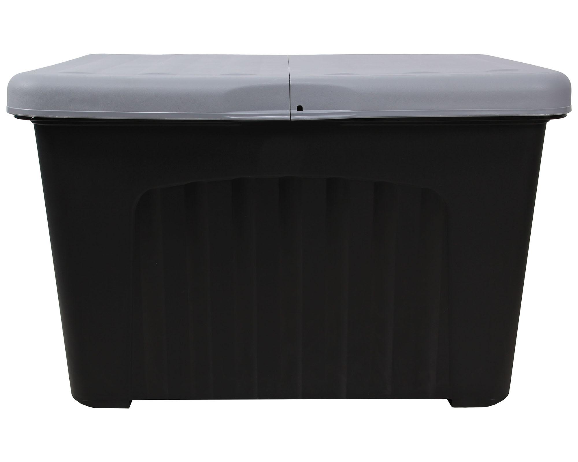 ondis24 lagerbox aufbewahrungsbox pandorino grau anthrazit g nstig online kaufen. Black Bedroom Furniture Sets. Home Design Ideas