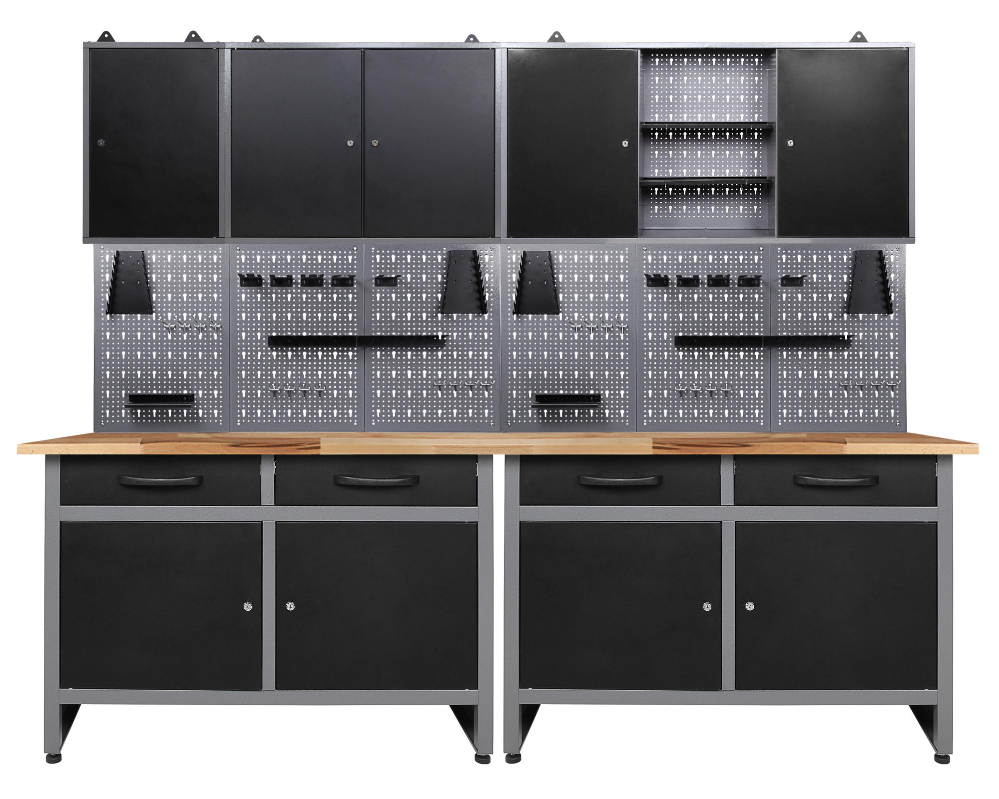 Ondis24 Werkstatt Set Werner 240 cm 3 Schränke günstig online kaufen