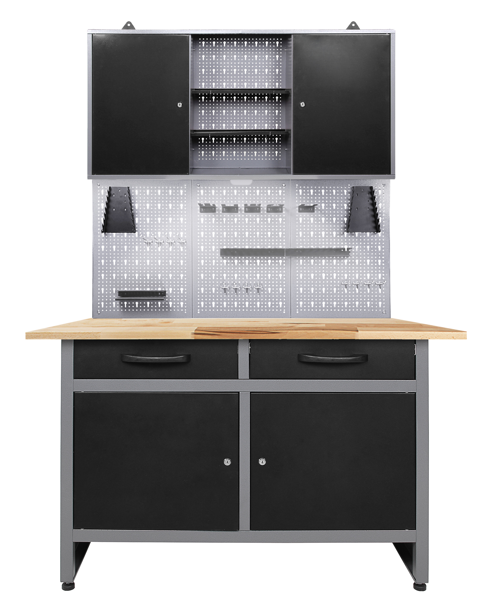ondis24 werkstatt set werner 120 cm 1 schrank led g nstig online kaufen. Black Bedroom Furniture Sets. Home Design Ideas