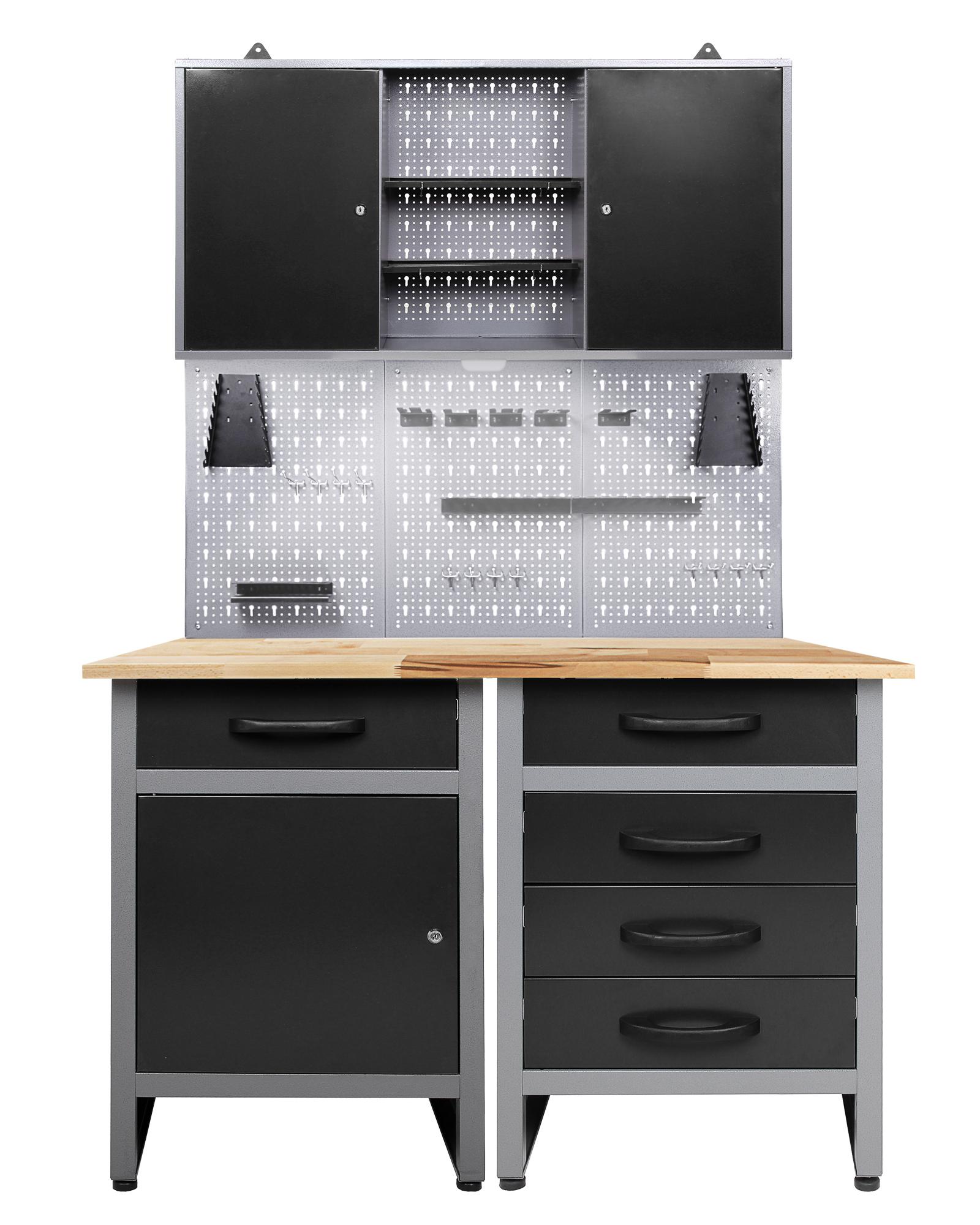 ondis24 werkstatt set entdecker 120 cm 1 schrank led g nstig online kaufen. Black Bedroom Furniture Sets. Home Design Ideas