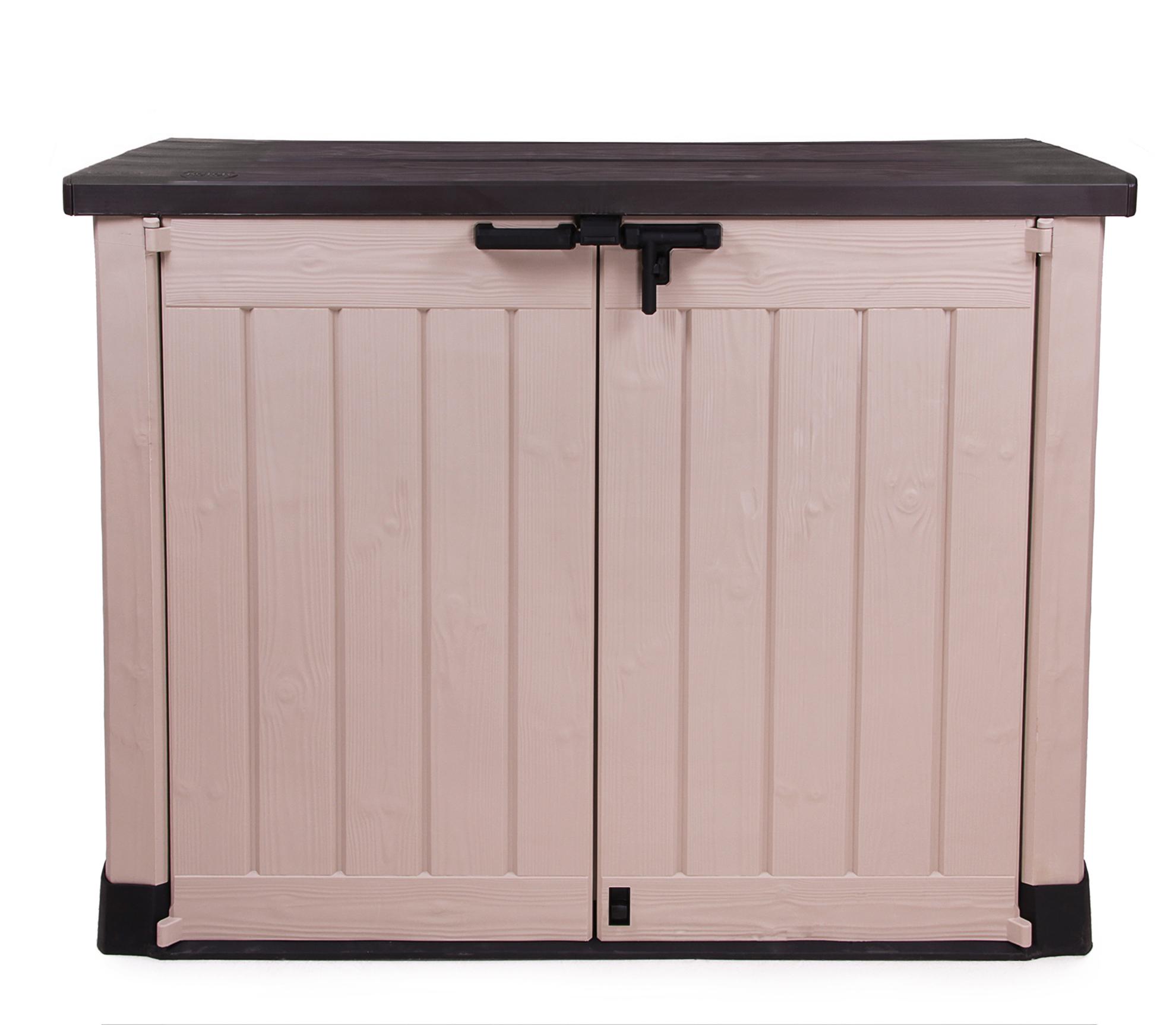 ondis24 keter geräteschuppen mülltonnenbox gartenbox max günstig