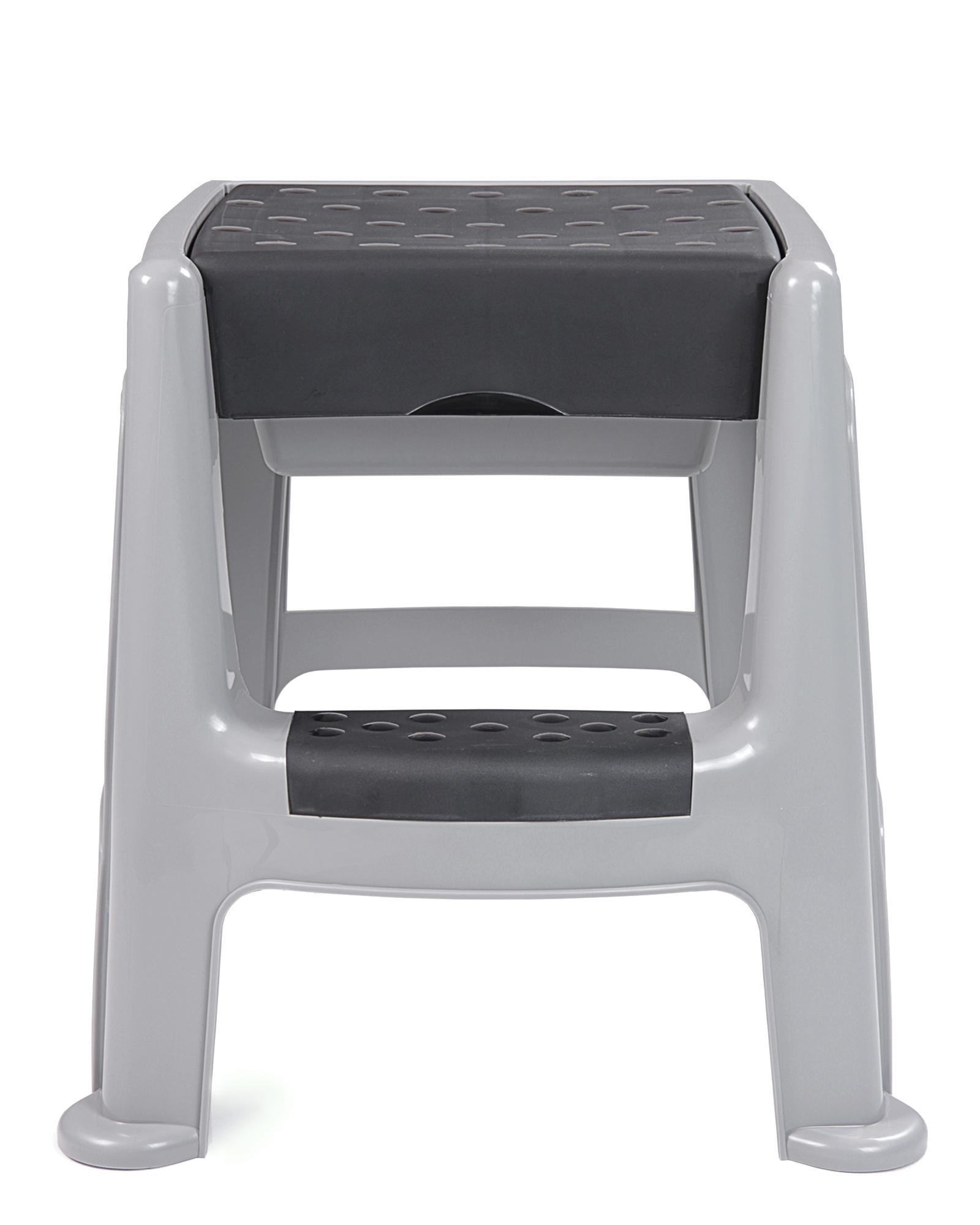 hocker sitzhocker badhocker mit trittleiter stapelbar mit staufach bis 150 kg ebay. Black Bedroom Furniture Sets. Home Design Ideas