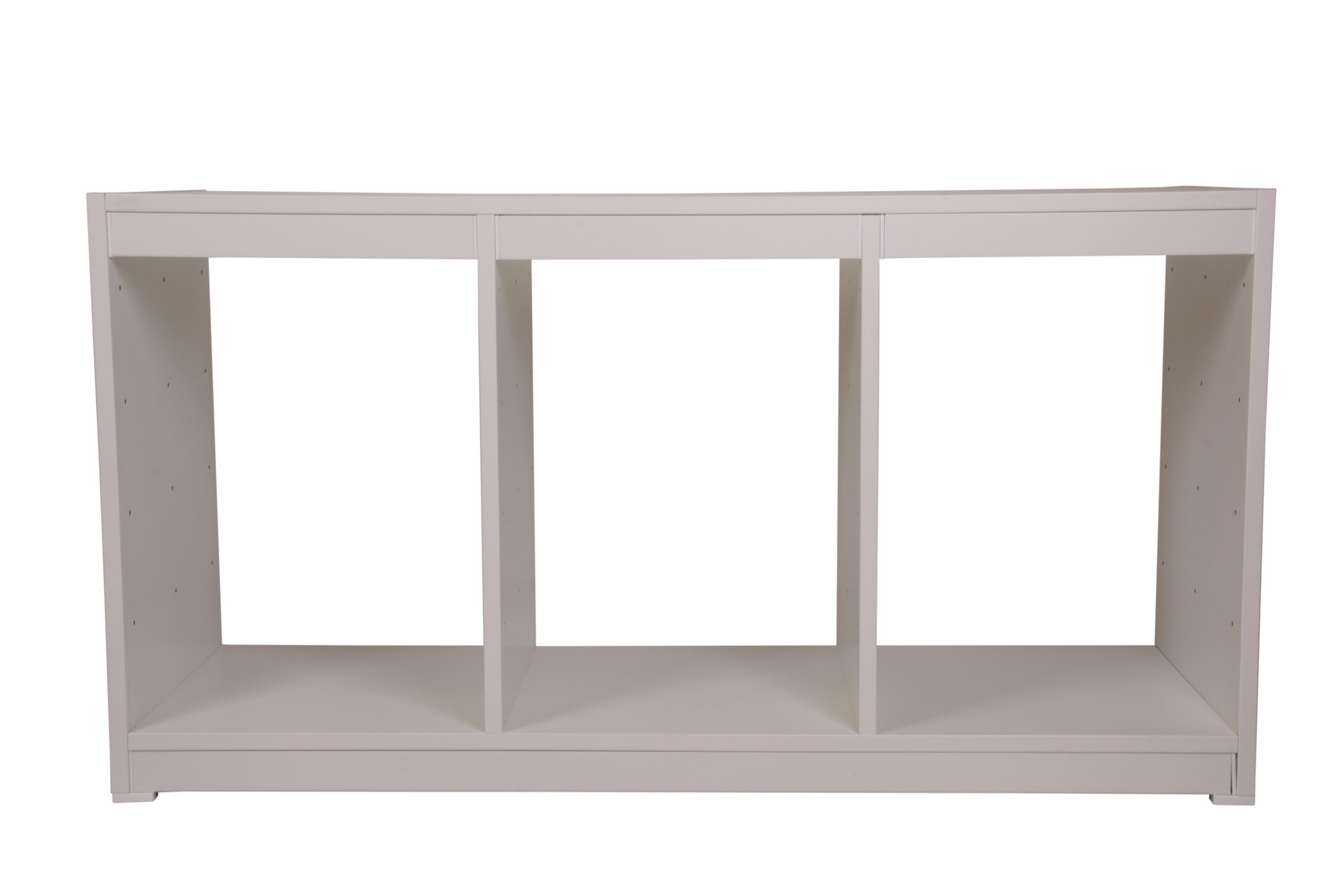 ondis24 kreo regal breit 3 fach g nstig online kaufen. Black Bedroom Furniture Sets. Home Design Ideas