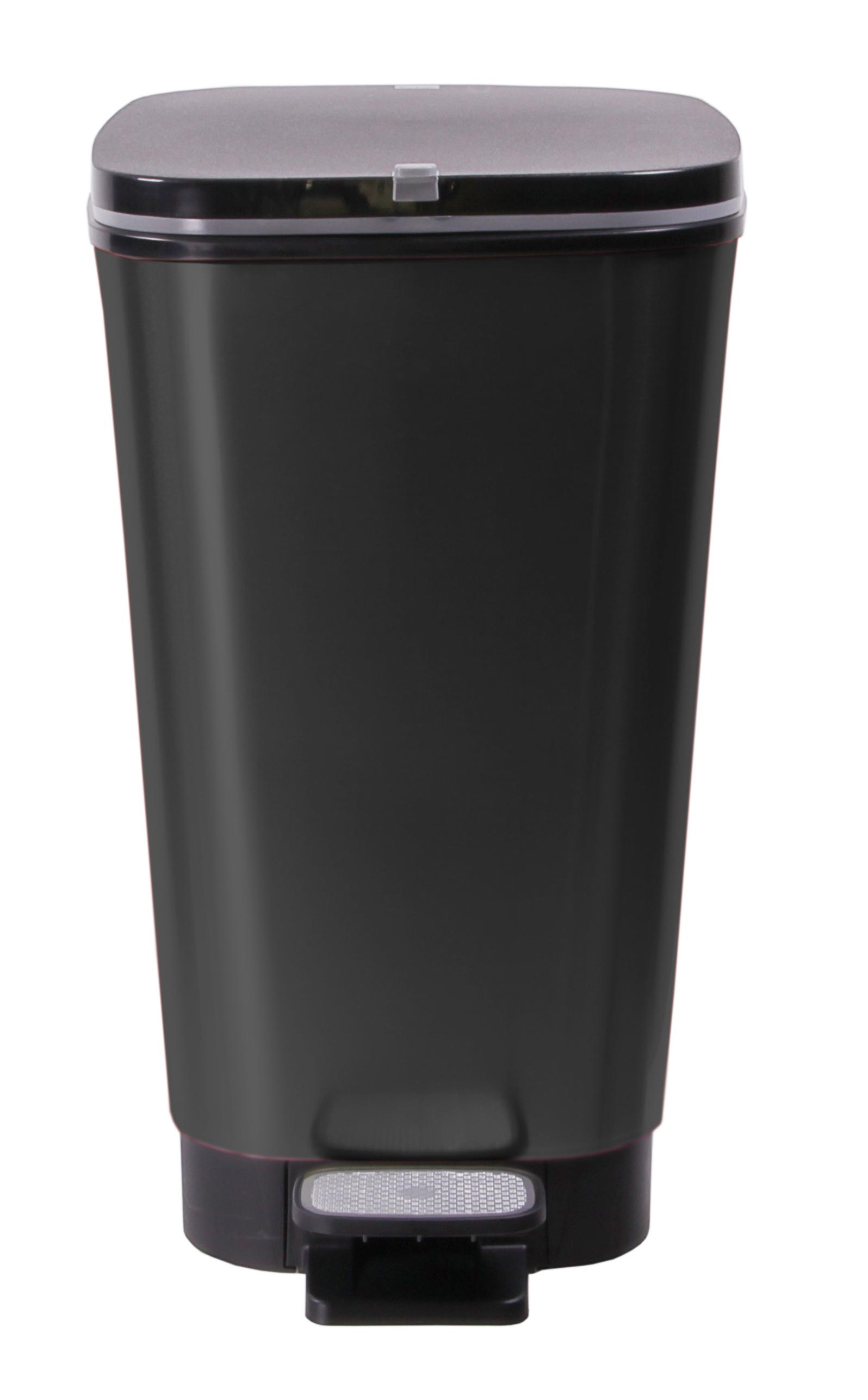 ondis24 abfalleimer m lleimer chic schwarz 25 liter g nstig online kaufen. Black Bedroom Furniture Sets. Home Design Ideas