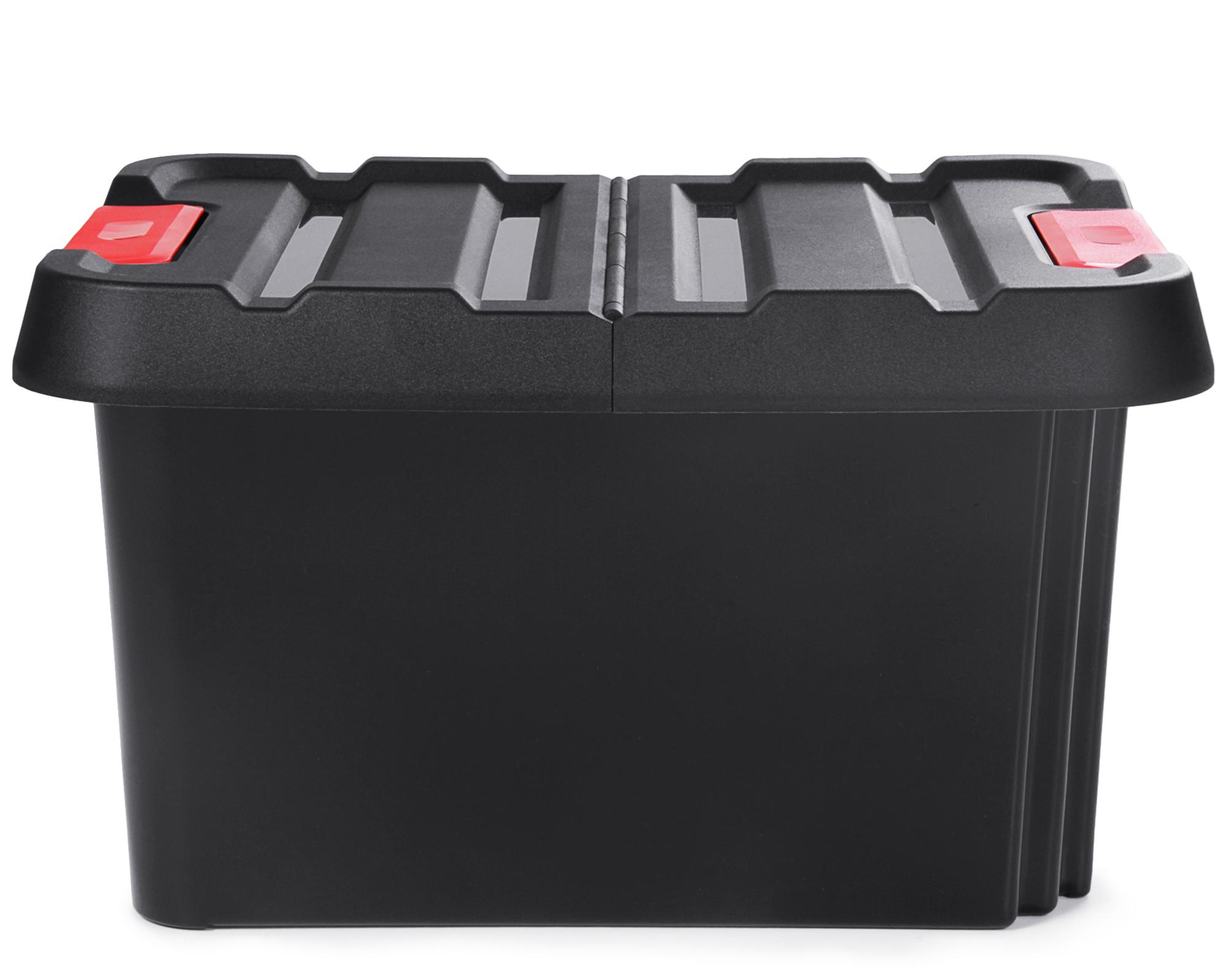 Ondis24 Dreh Und Stapelbox Malle Aufbewahrungsbox Mit Deckel 85 L