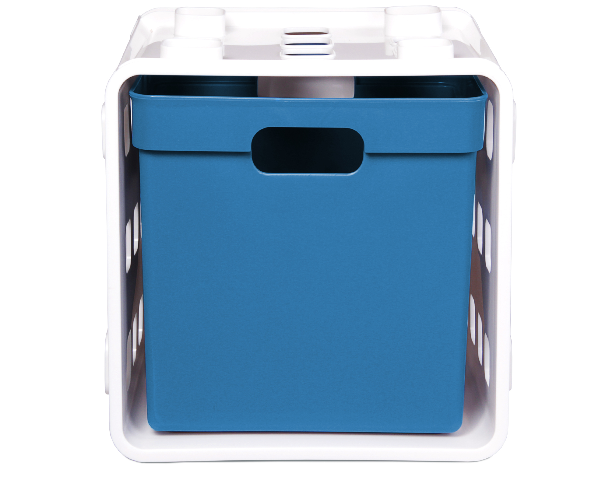 Bezaubernd Regalsystem Günstig Beste Wahl Steckregal Cube Storage Blau