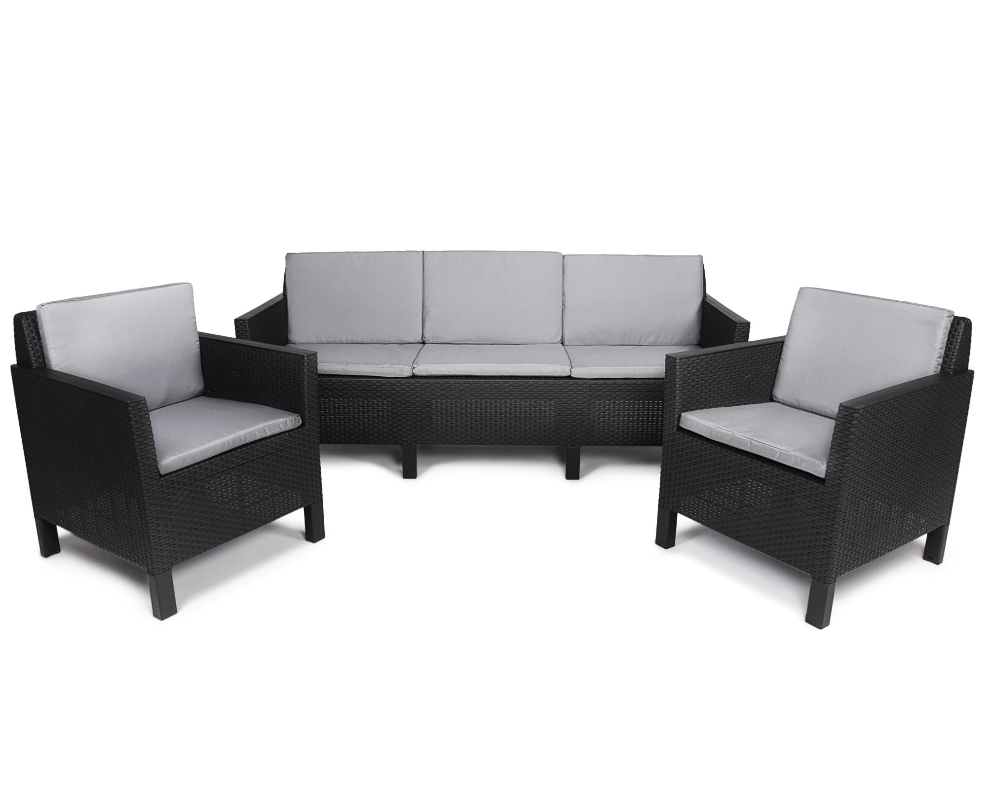 Ondis24 Chicago Lounge Set 5 Sitze Mit Sofa Günstig Online Kaufen