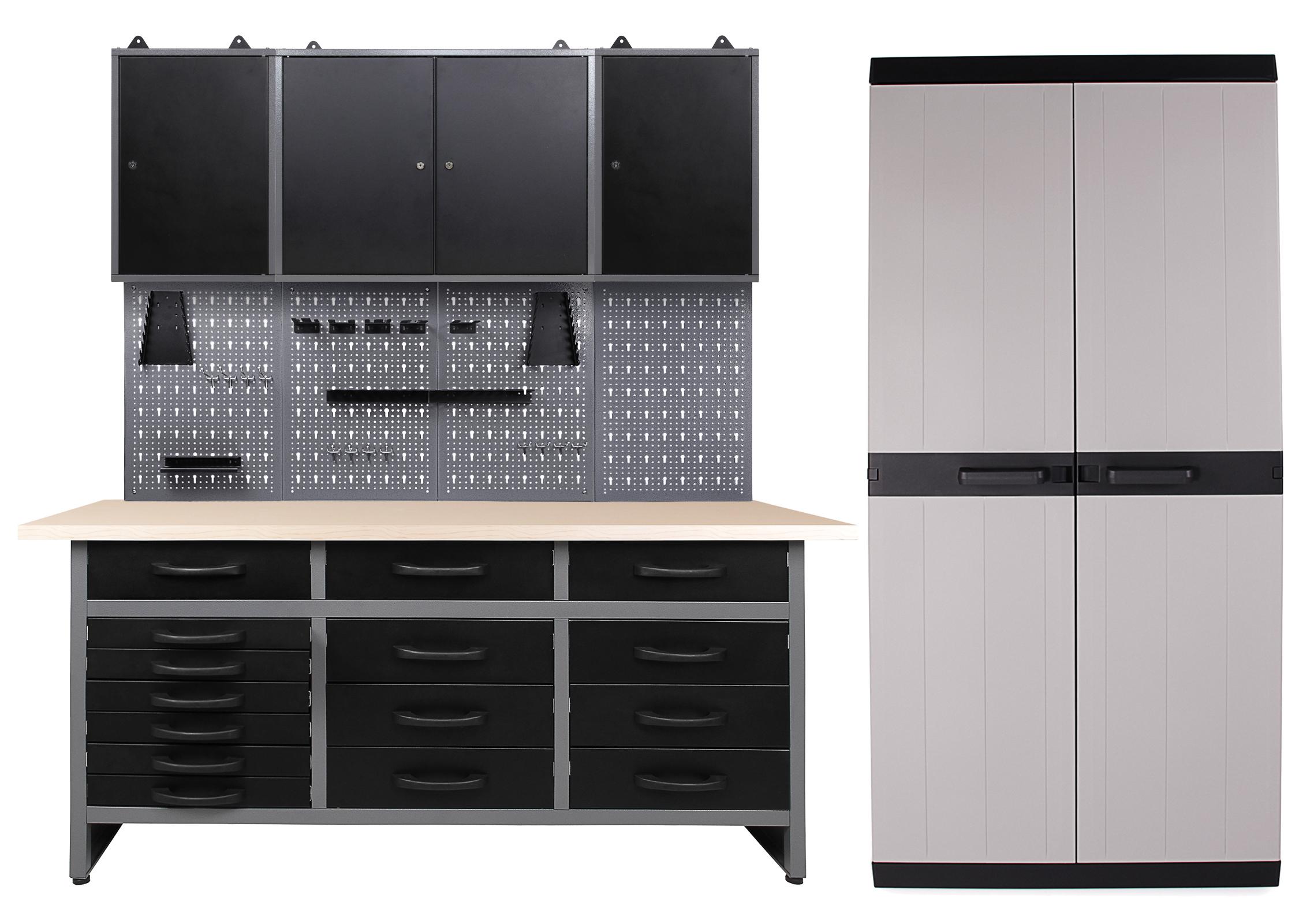 Ondis24 Werkstatt Konny 3 Schränke + Comfort XL Schrank günstig ...