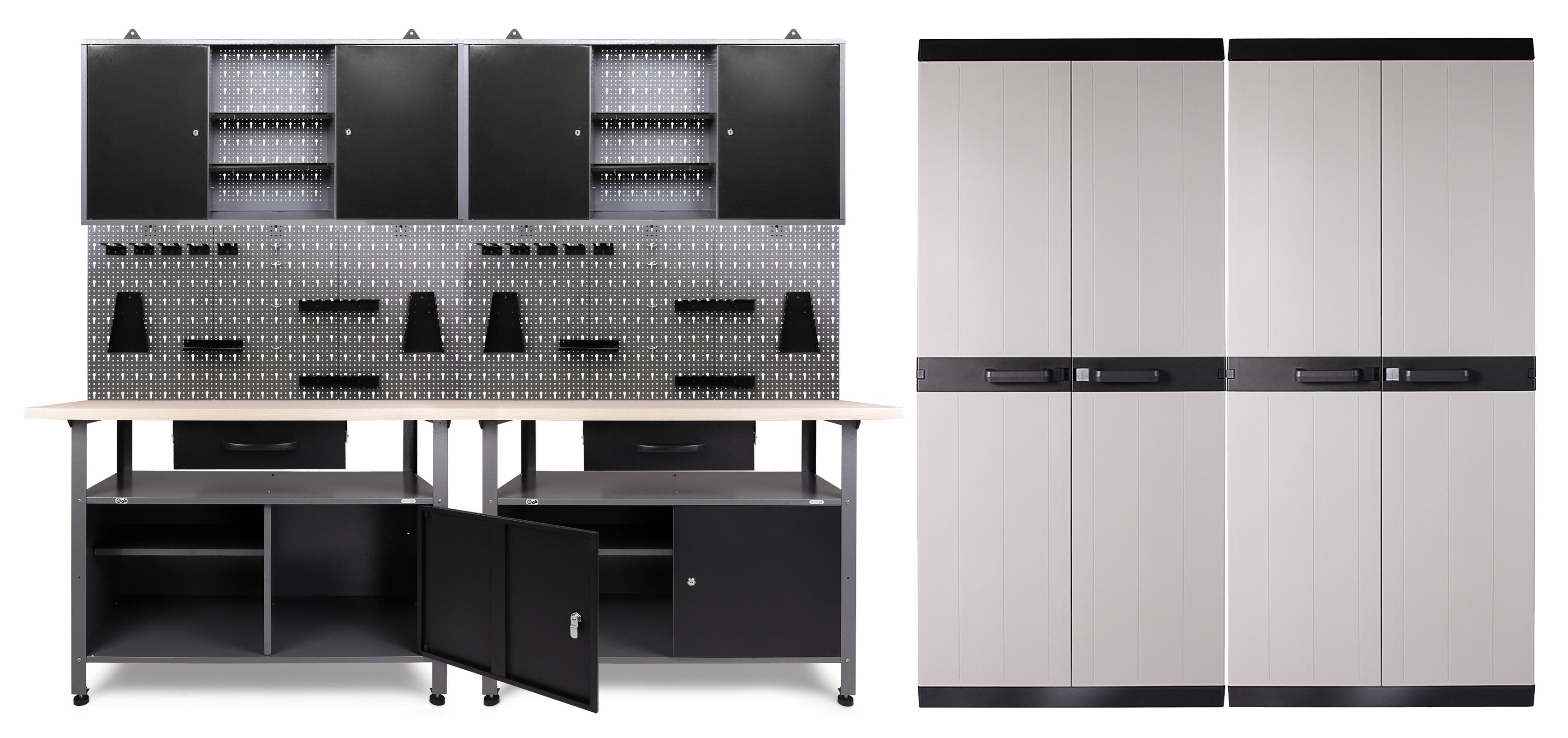 Ondis24 Werkstatt Klaus 2 Schränke + 2 Comfort XL Schränke günstig ...