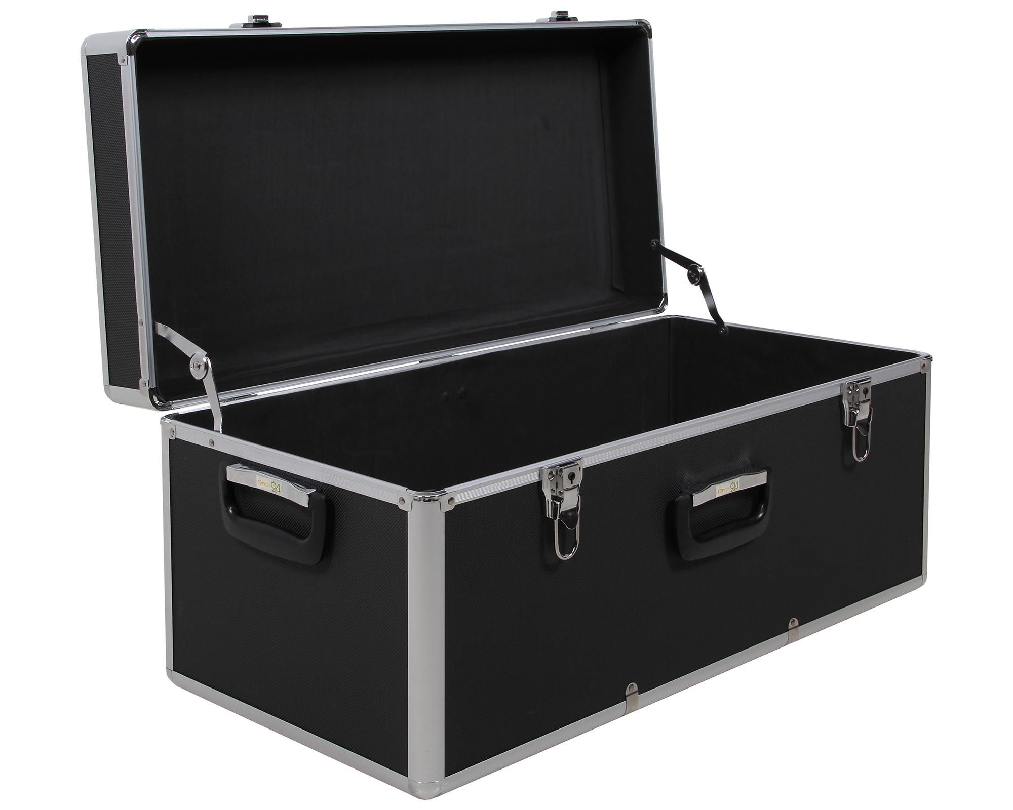ondis24 aufbewahrungskoffer alukoffer schwarz l g nstig online kaufen. Black Bedroom Furniture Sets. Home Design Ideas