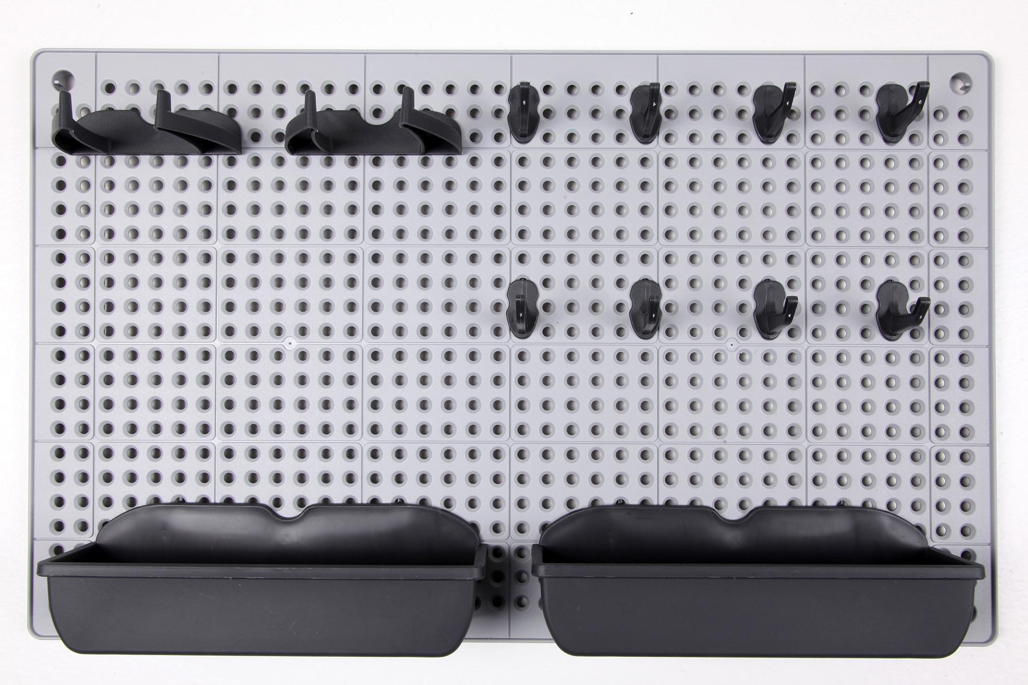 ondis24 lochwand kunststoff mit haken g nstig online kaufen. Black Bedroom Furniture Sets. Home Design Ideas