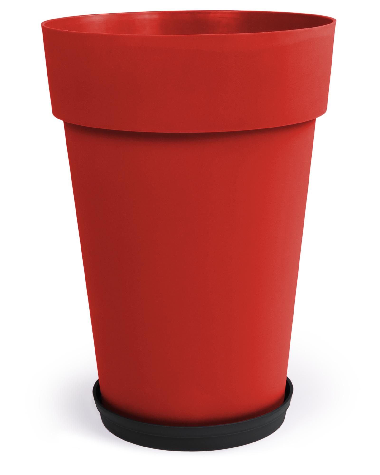 Ondis24 blumentopf toskana 67 l g nstig online kaufen for Blumentopf rot