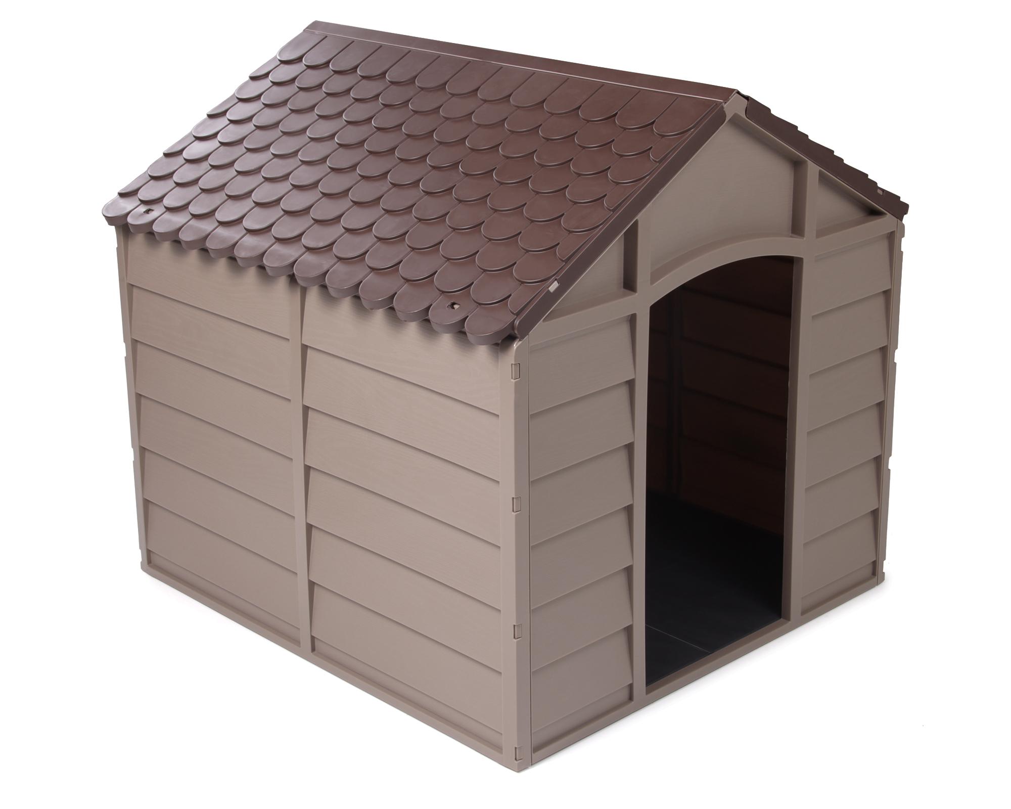 ondis24 arkadien hundeh tte aus kunststoff f r mittelgro e hunde g nstig online kaufen. Black Bedroom Furniture Sets. Home Design Ideas