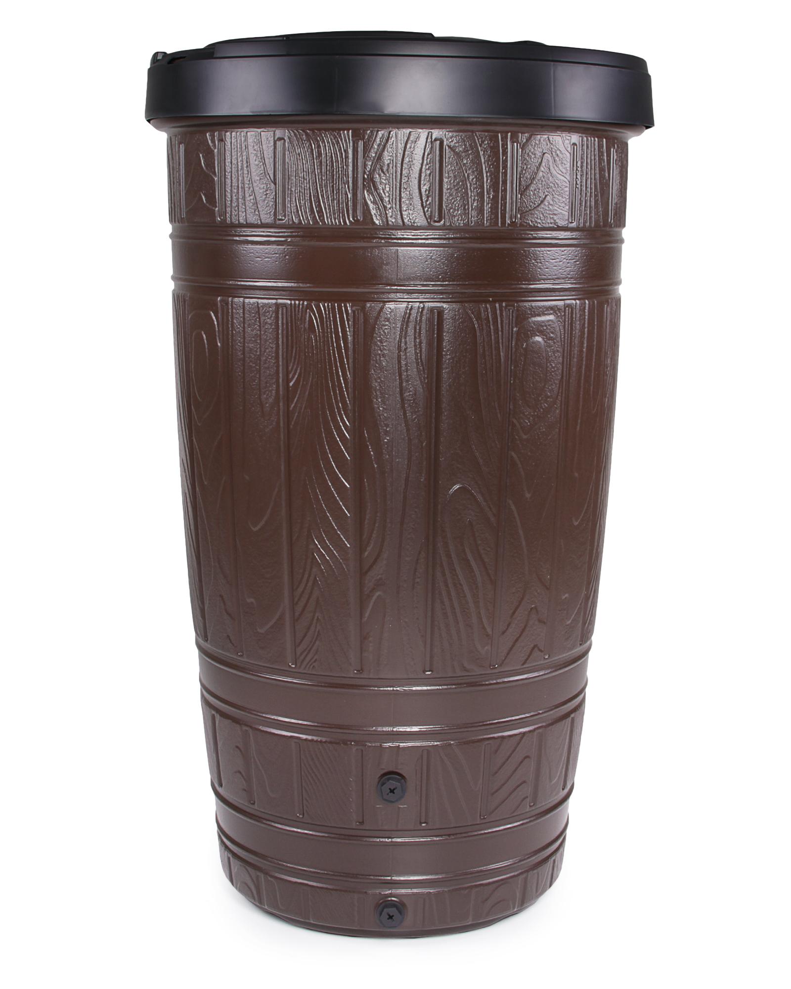 ondis24 regentonne woodcan 265 liter mit st nder g nstig online kaufen. Black Bedroom Furniture Sets. Home Design Ideas