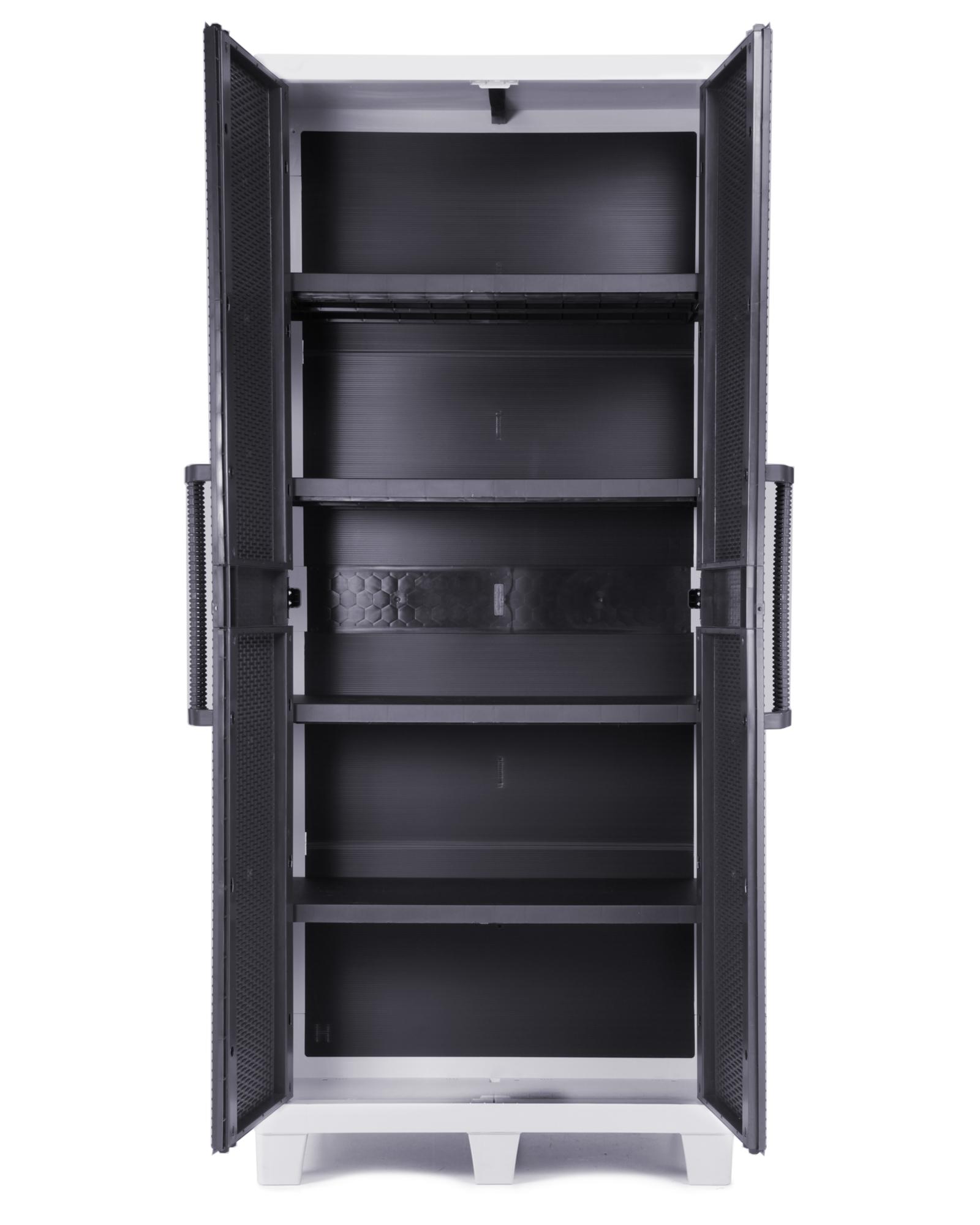 Ondis24 Santo XL Kunststoffschrank 4 Böden günstig online kaufen