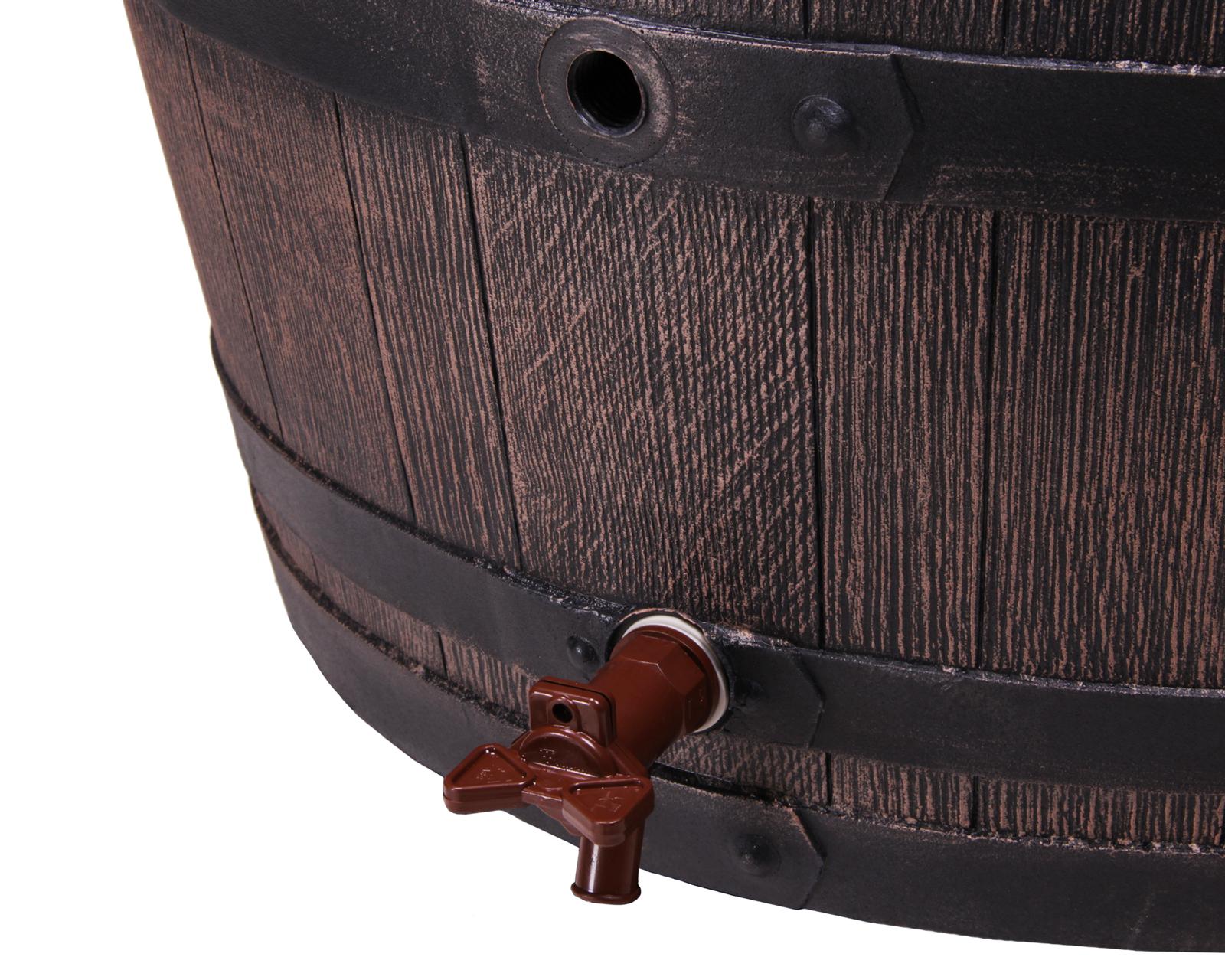 ondis24 regentonne regenfass eichenfass 240 l g nstig. Black Bedroom Furniture Sets. Home Design Ideas