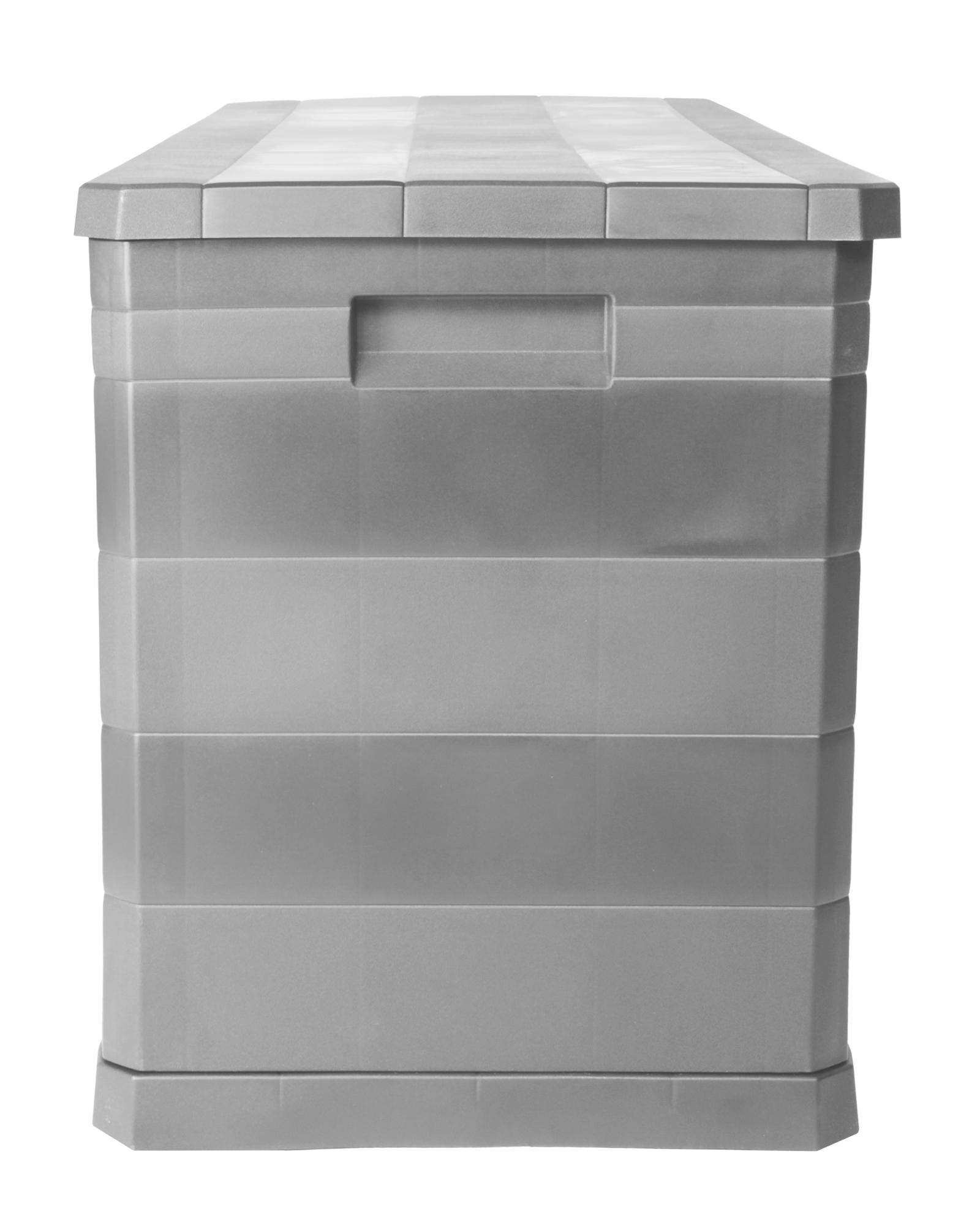 Kettler Gartenmobel Stapelsessel :  Auflagenbox Gartentruhe Elegance warmgrau jetzt günstig kaufen