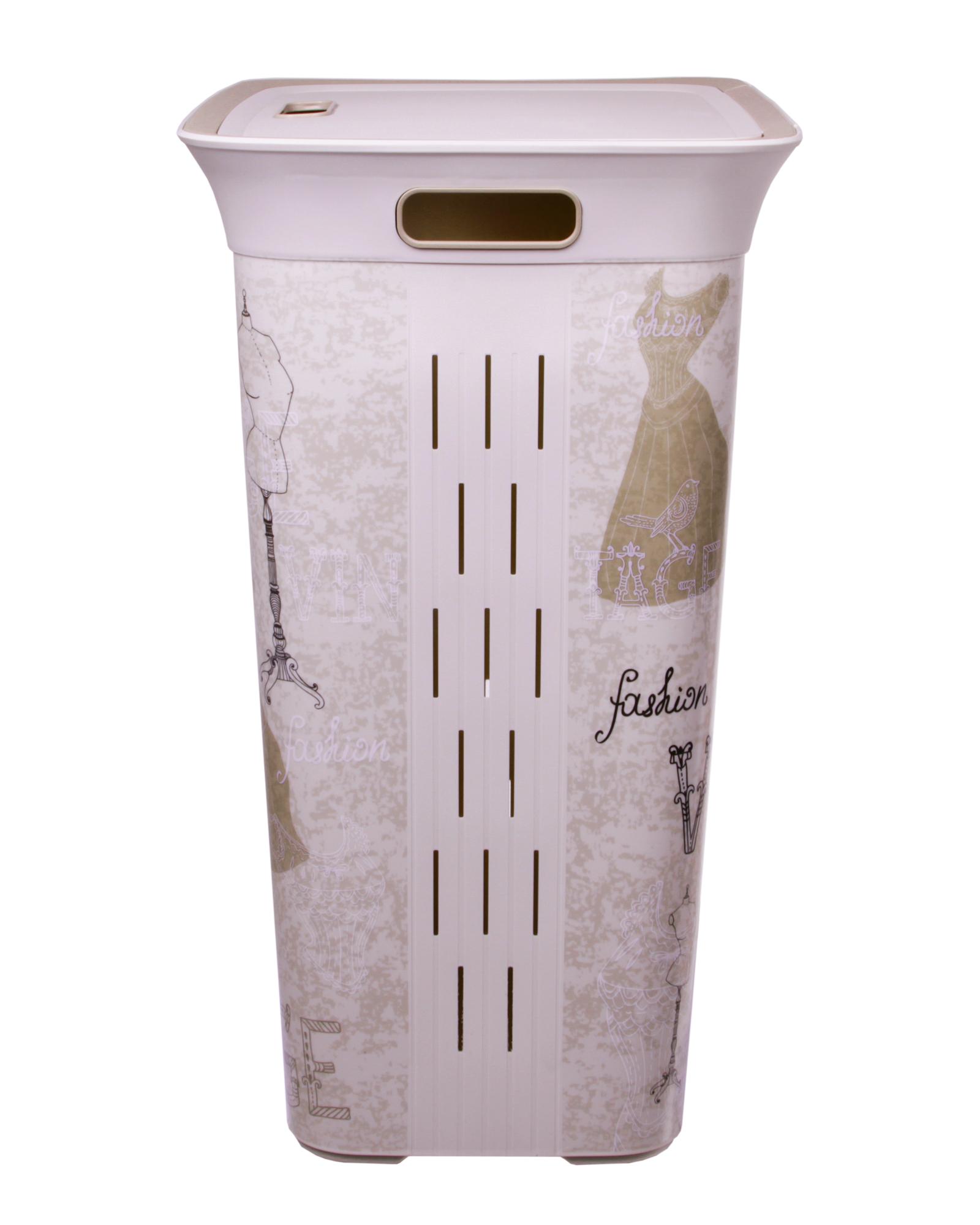 Wäschekorb Vintage ondis24 wäschekorb wäschebox moda vintage 60 l günstig kaufen