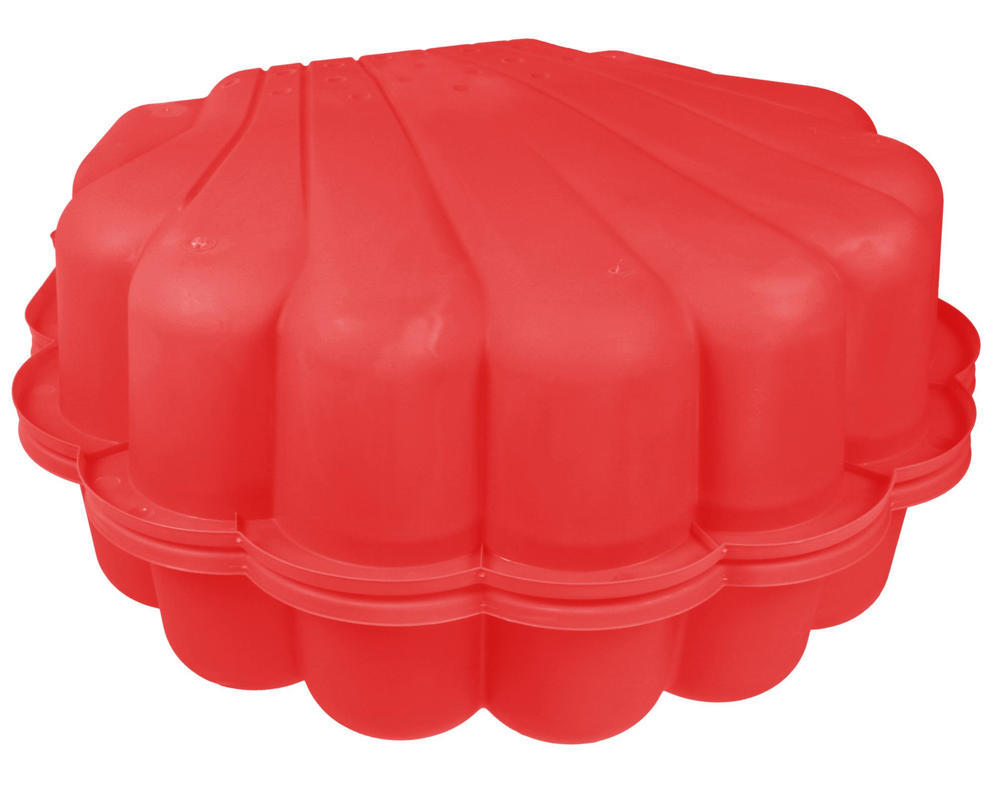 ondis24 sandkasten muschel wassermuschel 87 cm rot g nstig. Black Bedroom Furniture Sets. Home Design Ideas