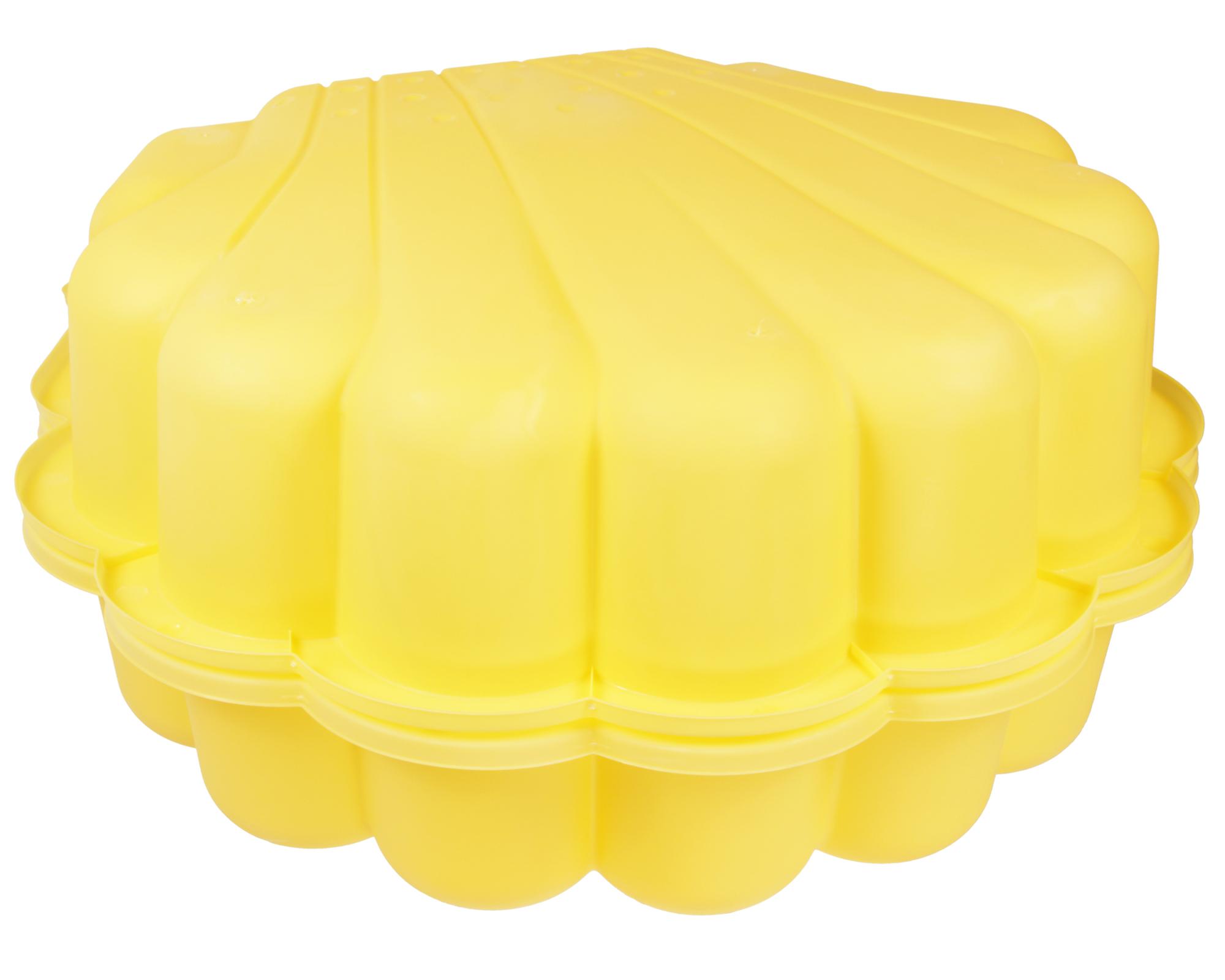 ondis24 sandkasten muschel wassermuschel 87 cm gelb. Black Bedroom Furniture Sets. Home Design Ideas