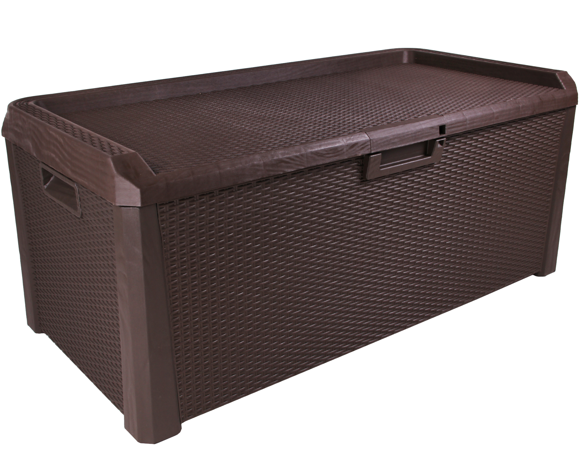 ondis24 kissenbox sitztruhe santo 560 l braun g nstig. Black Bedroom Furniture Sets. Home Design Ideas