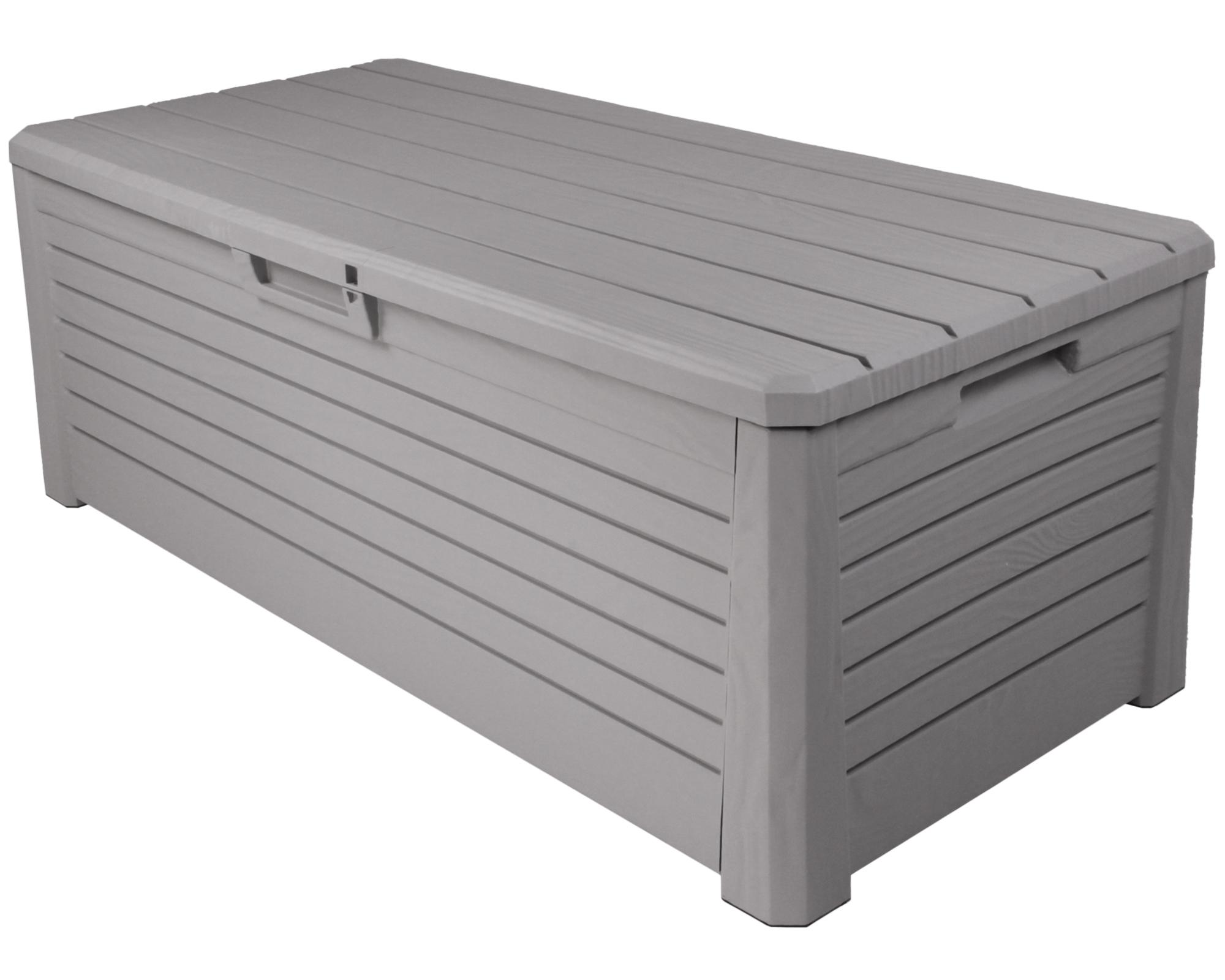 ondis24 kissenbox sitztruhe florida 550 l grau g nstig online kaufen. Black Bedroom Furniture Sets. Home Design Ideas
