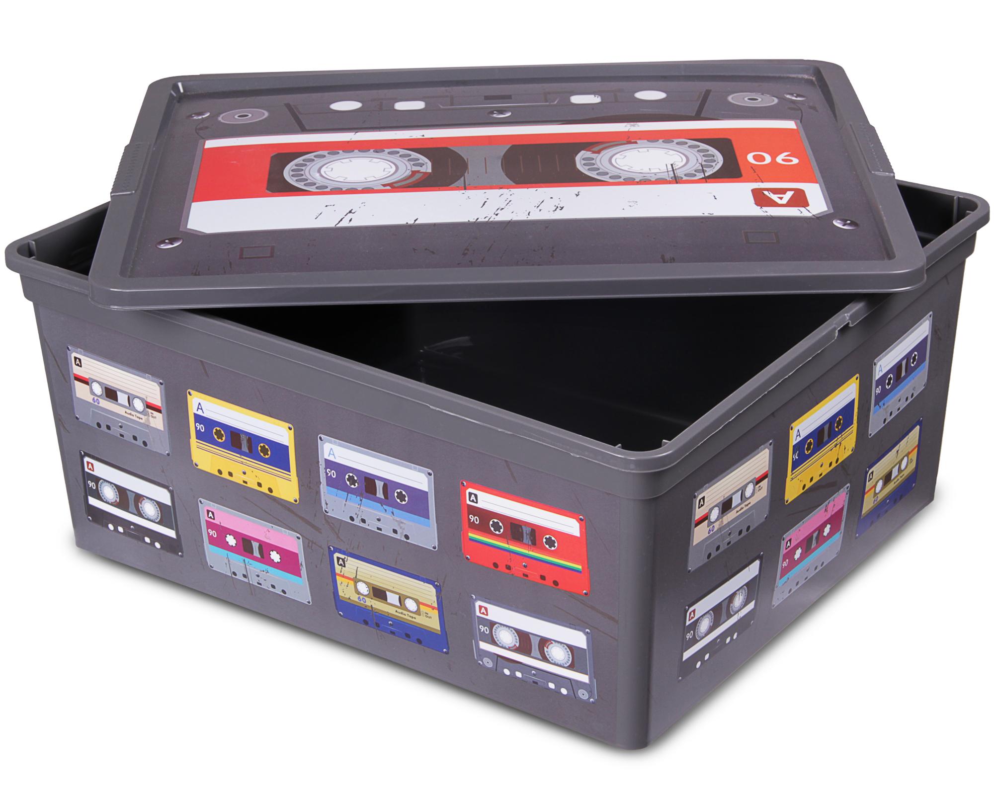 Ondis24 Aufbewahrungsbox Style M Retro Design Technik mit