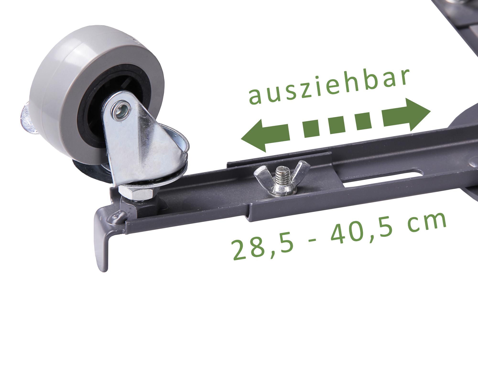 ondis24 pflanzenroller blumenroller metall universal. Black Bedroom Furniture Sets. Home Design Ideas