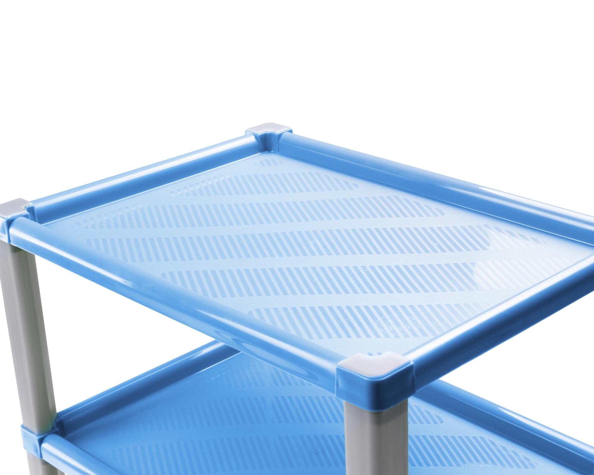 ondis24 regal kunststoff badregal scaf blau g nstig online kaufen. Black Bedroom Furniture Sets. Home Design Ideas