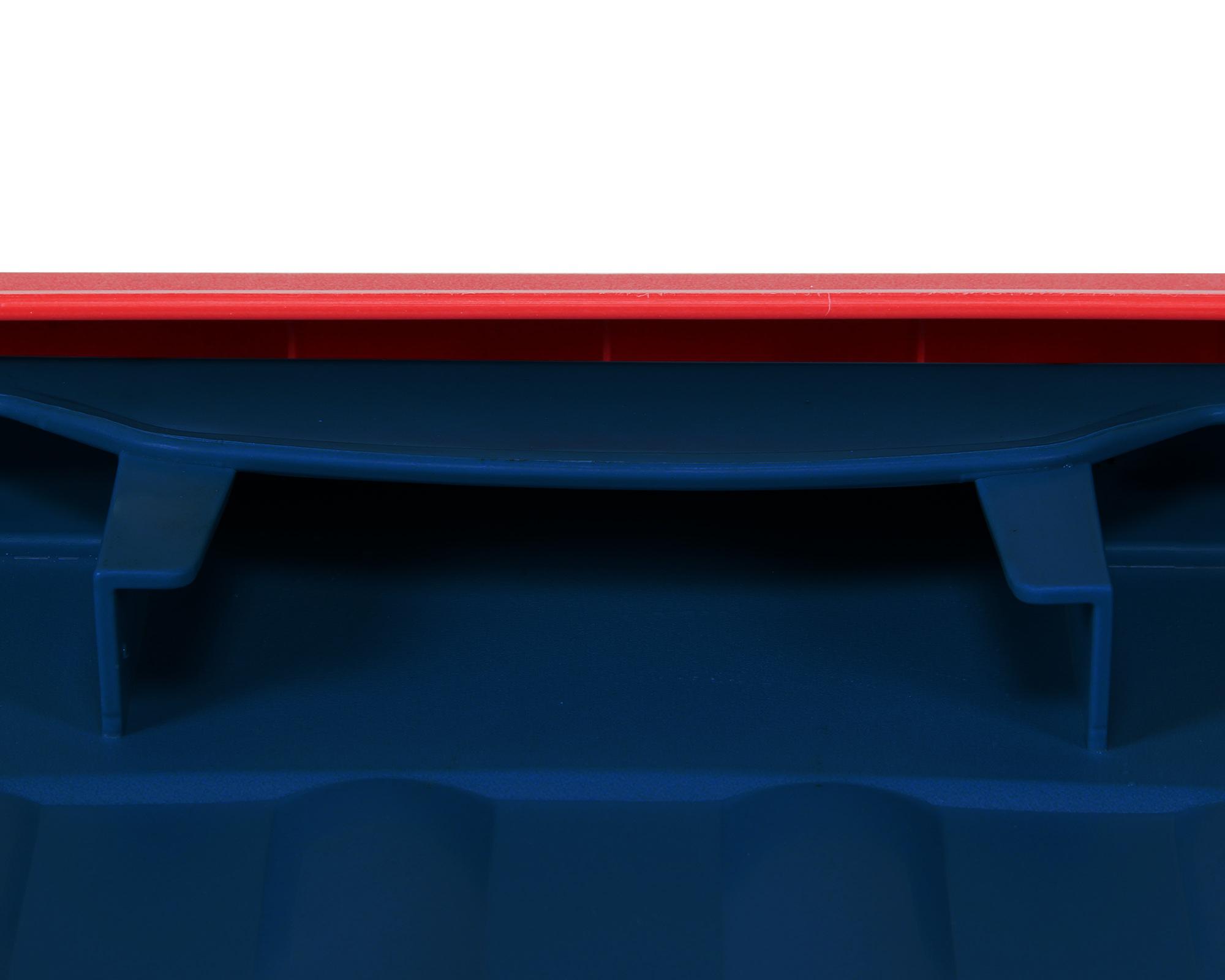 Kettler Gartenmobel Stapelsessel :  Lagerbox Transportbox Pandorino blaurot jetzt günstig kaufen