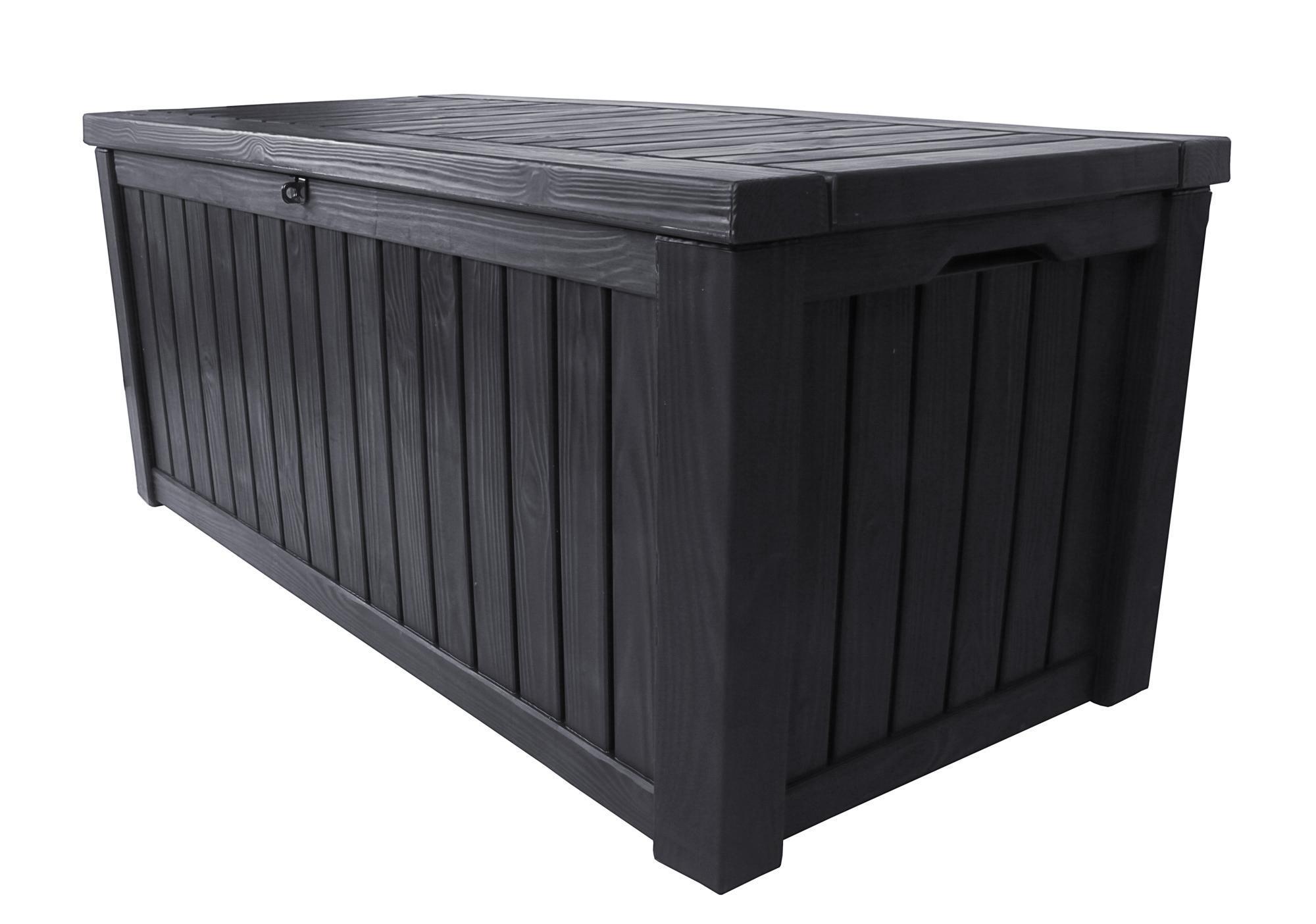 ondis24 kissenbox sitztruhe rockwood anthrazit g nstig. Black Bedroom Furniture Sets. Home Design Ideas