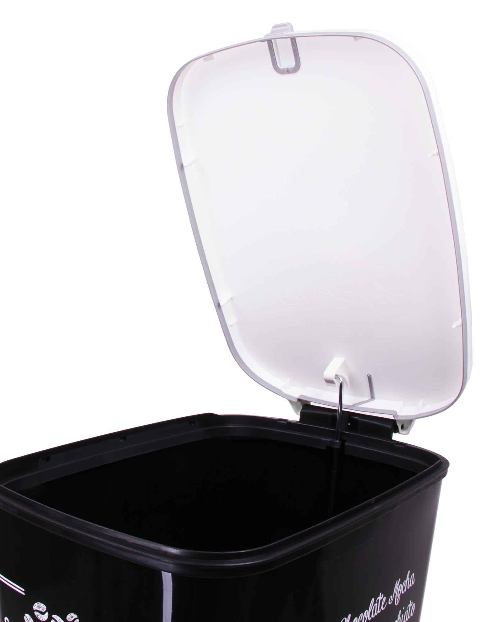ondis24 abfalleimer m lleimer chic coffee 45 liter g nstig. Black Bedroom Furniture Sets. Home Design Ideas
