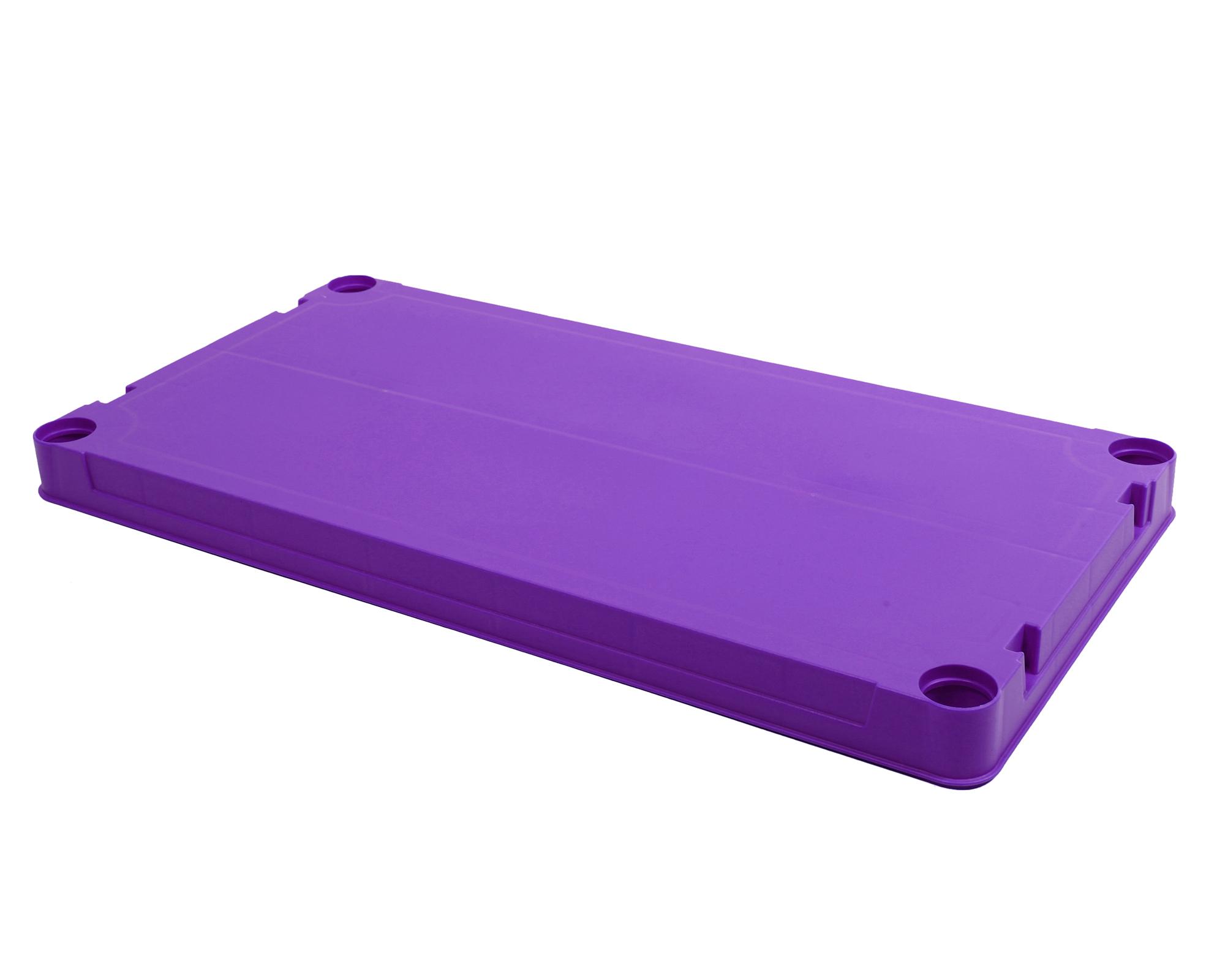 ondis24 kunststoffregal steckregal violett 60 x 30 g nstig online kaufen. Black Bedroom Furniture Sets. Home Design Ideas